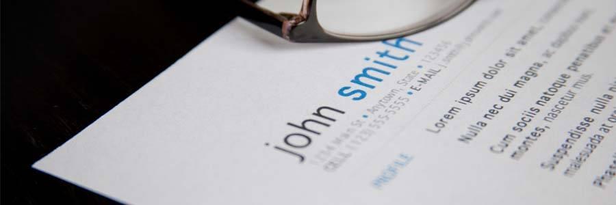 John Smith's resume