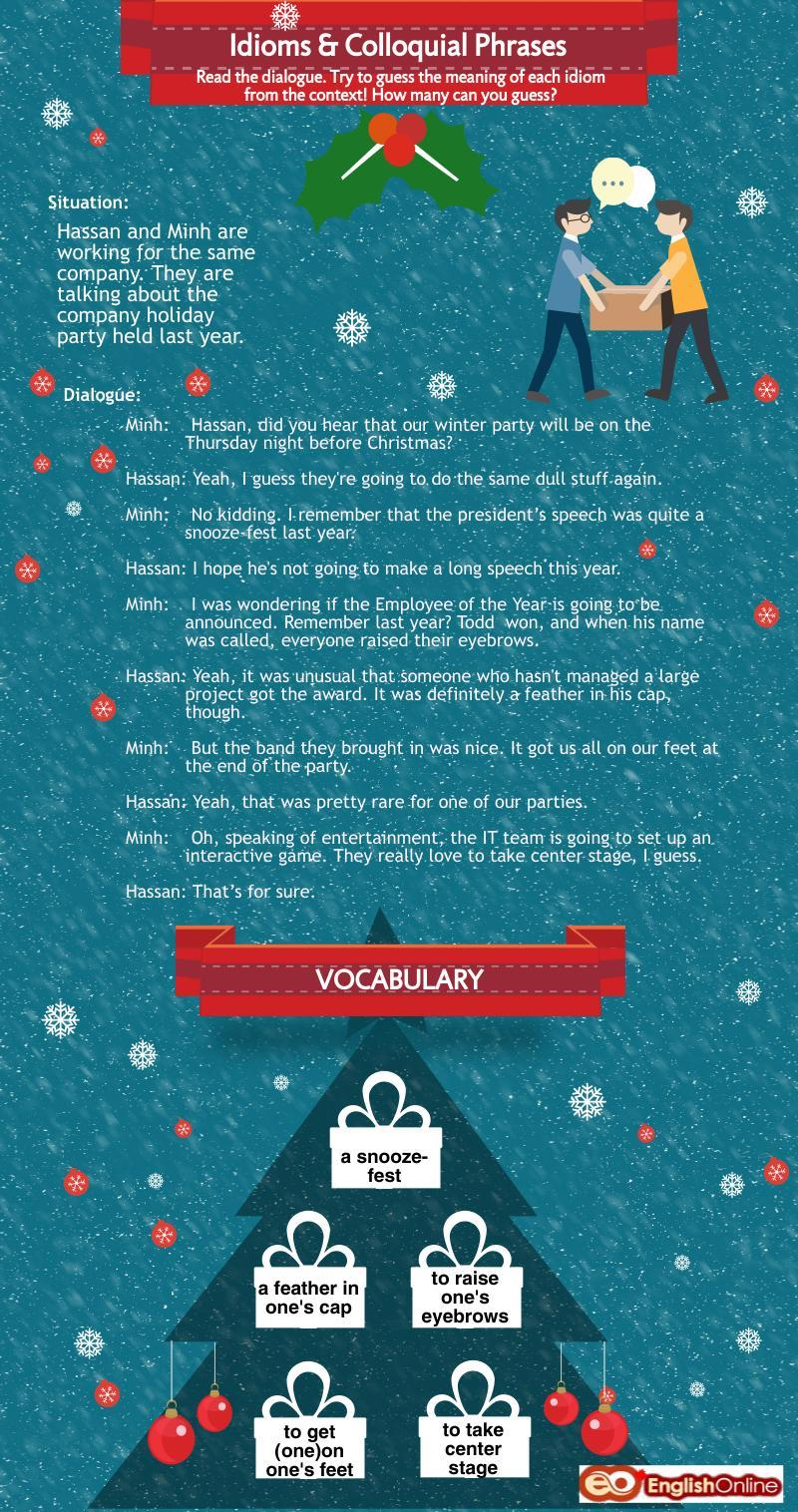 Winter Idioms And Colloquial Phrases Live Amp Learn