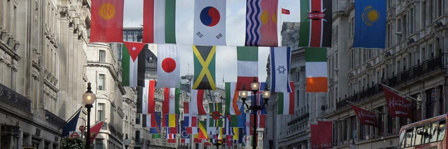 Flags of Olympic Nations