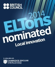 Featured image: ELTONS 2014 nomination badge