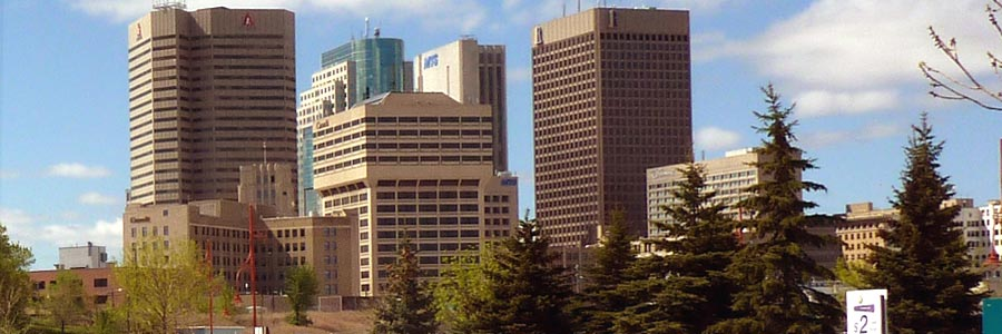 Winnipeg Downtown Skyline