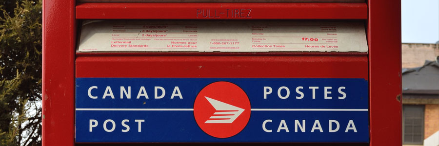 Canada Post mailbox in Richmond Hill