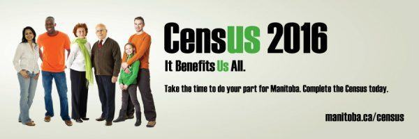Census 2016 - Take the time to do your part for Manitoba. Complete the Census today. manitoba.ca/census