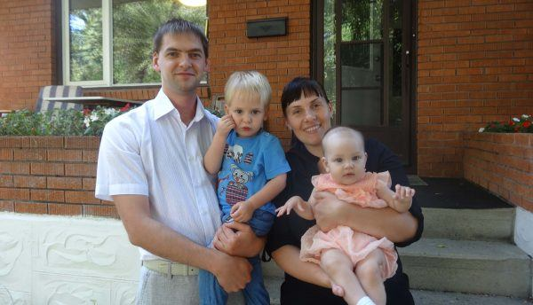 maksim and family