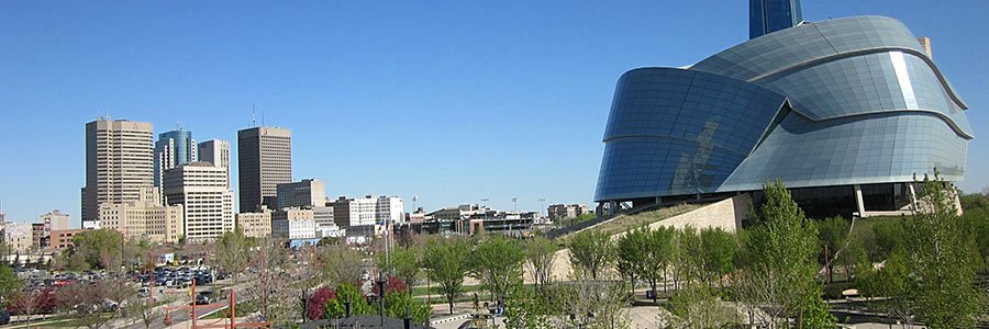 Canadian Museum of Human Rights in Winnipeg, Manitoba