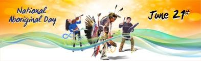 National Aboriginal Day graphic