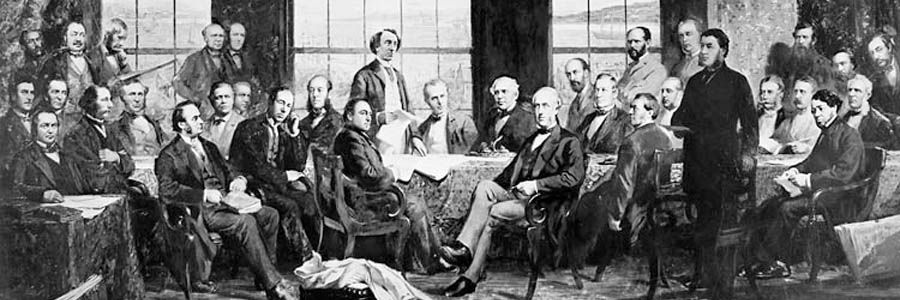 Painting of Fathers of Confederation