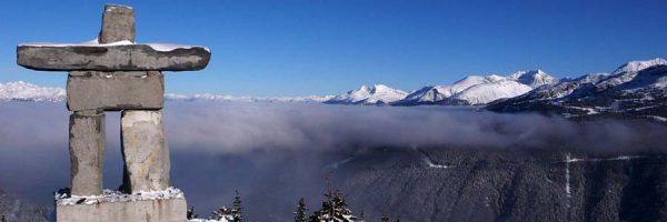 Whistler Peak's Inukshuk