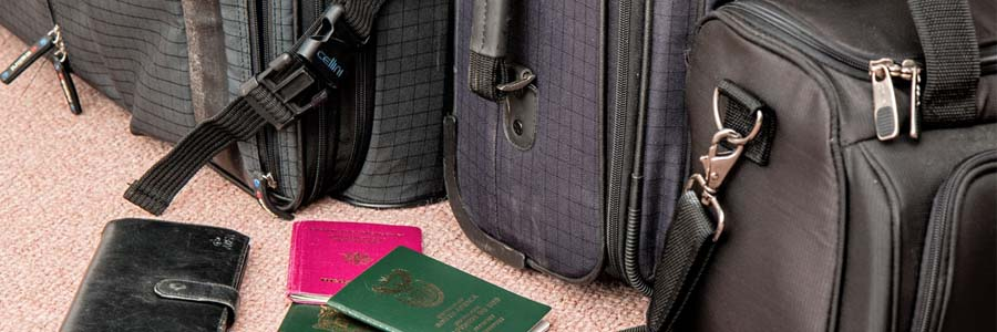 bags and passports