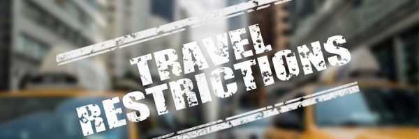"""""""Travel restrictions"""" graphic"""